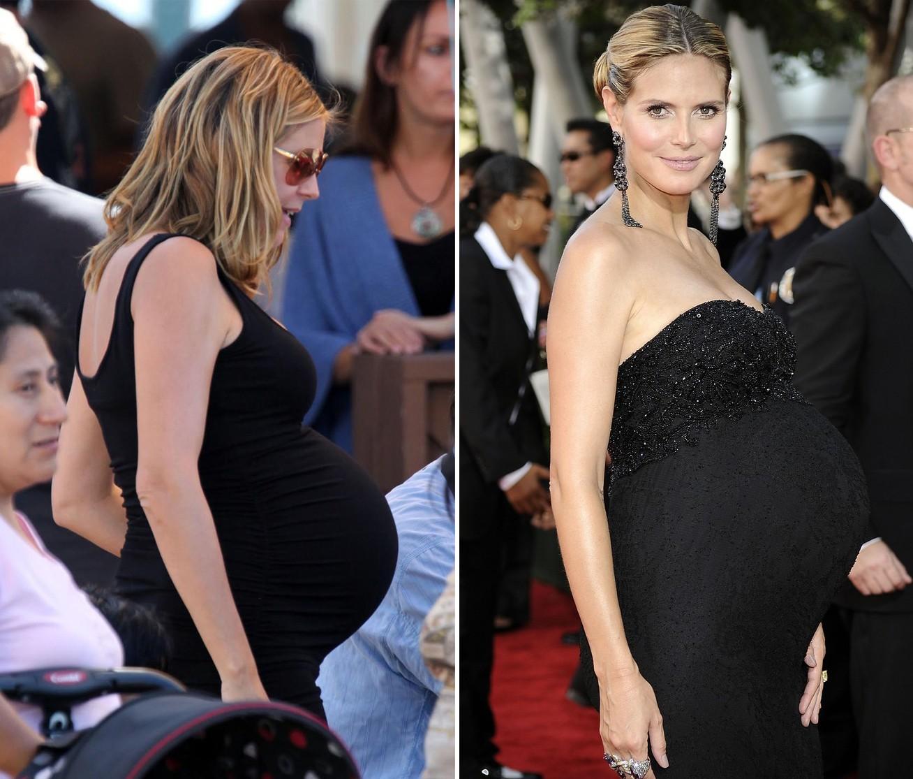 Фото беременных звезд