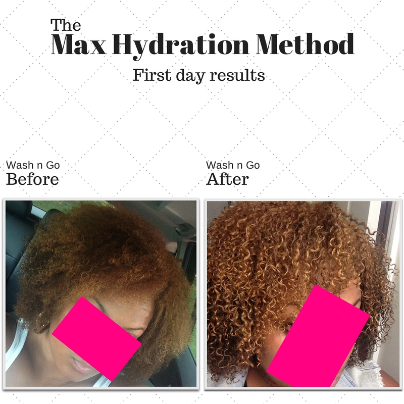 The New Max Hydration Method Promises Moisturized Defined Wash And