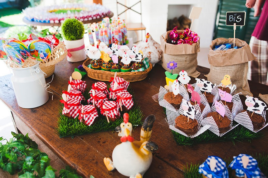 Farm Themed First Birthday Party Idea