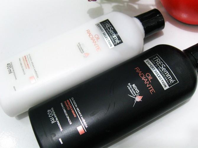 Shampoo e Condicionador Oil Radiante Tresemmé