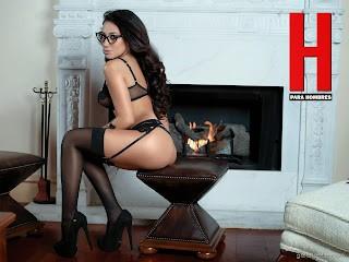 Fotos Jass Reyes Revista H para Hombres Octubre 2014