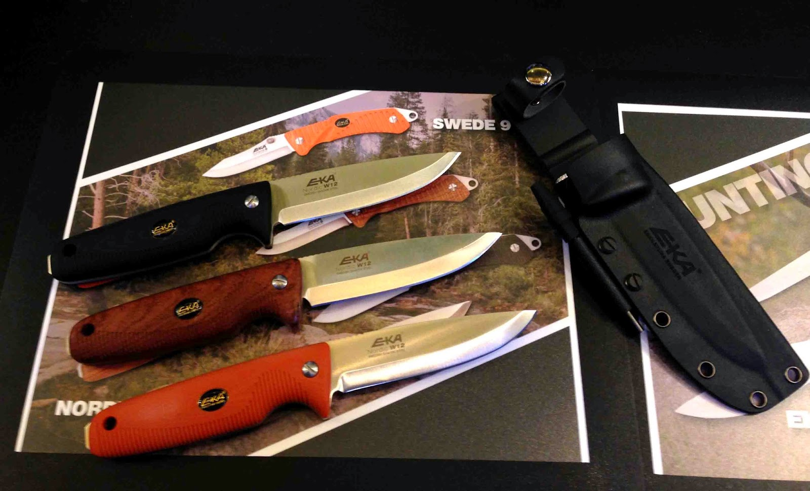 Rocky mountain bushcraft shot show 2014 first impression review - Although Eka Is A Newcomer To America They Have Been Making Knives In Sweden Since 1882 Their New Entry In The Us Survival Knife Market Is The Nordic W12