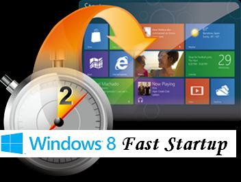 how to switch on fast start in windows 8