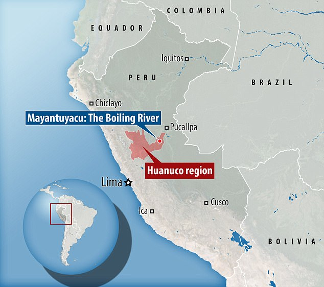 The river was discovered in the Mayantuyacu region of central Peru