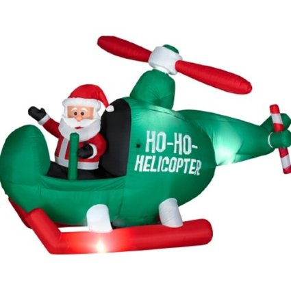 10 Fun Inflatable Santa Claus Decorations For Your Yard