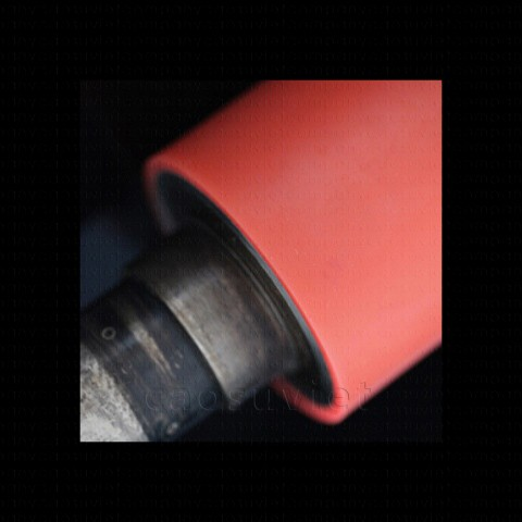 High hardness rubber rollers in the steel industry